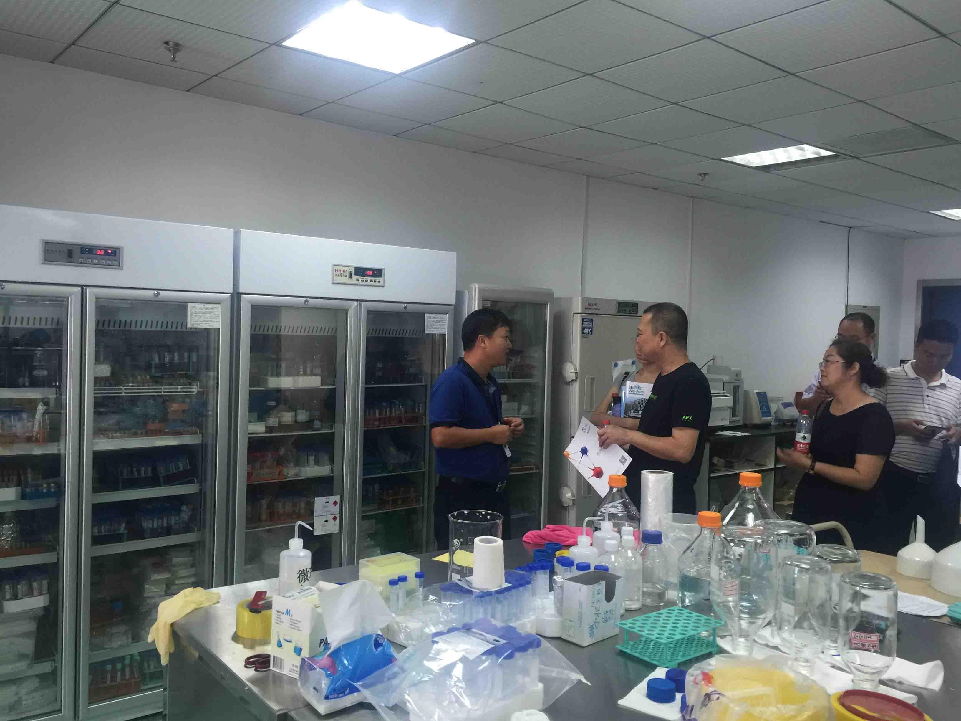 新纵科教授为内蒙古客户做产品讲解