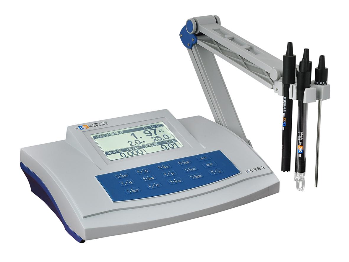 雷磁DZS-706型多参数分析仪