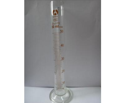 博美A级50ml量筒\刻度量筒\玻璃耗材\实验用品\工业检测用量筒