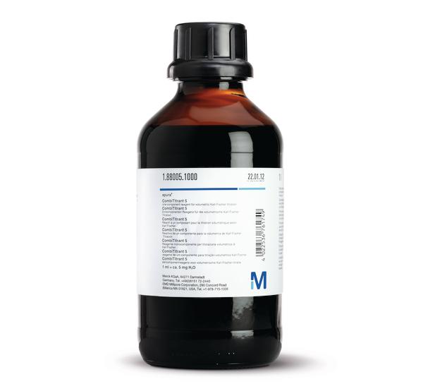 默克试剂1.88005.1000卡尔菲休滴定液力价5mg/ml