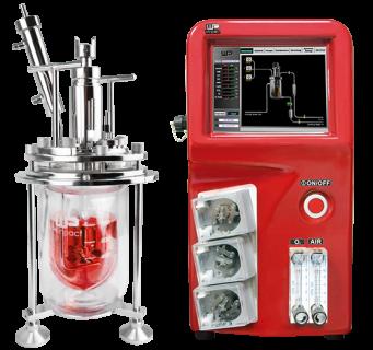 梅洁精巧型生物反应器/ 发酵罐, FS-06 系列