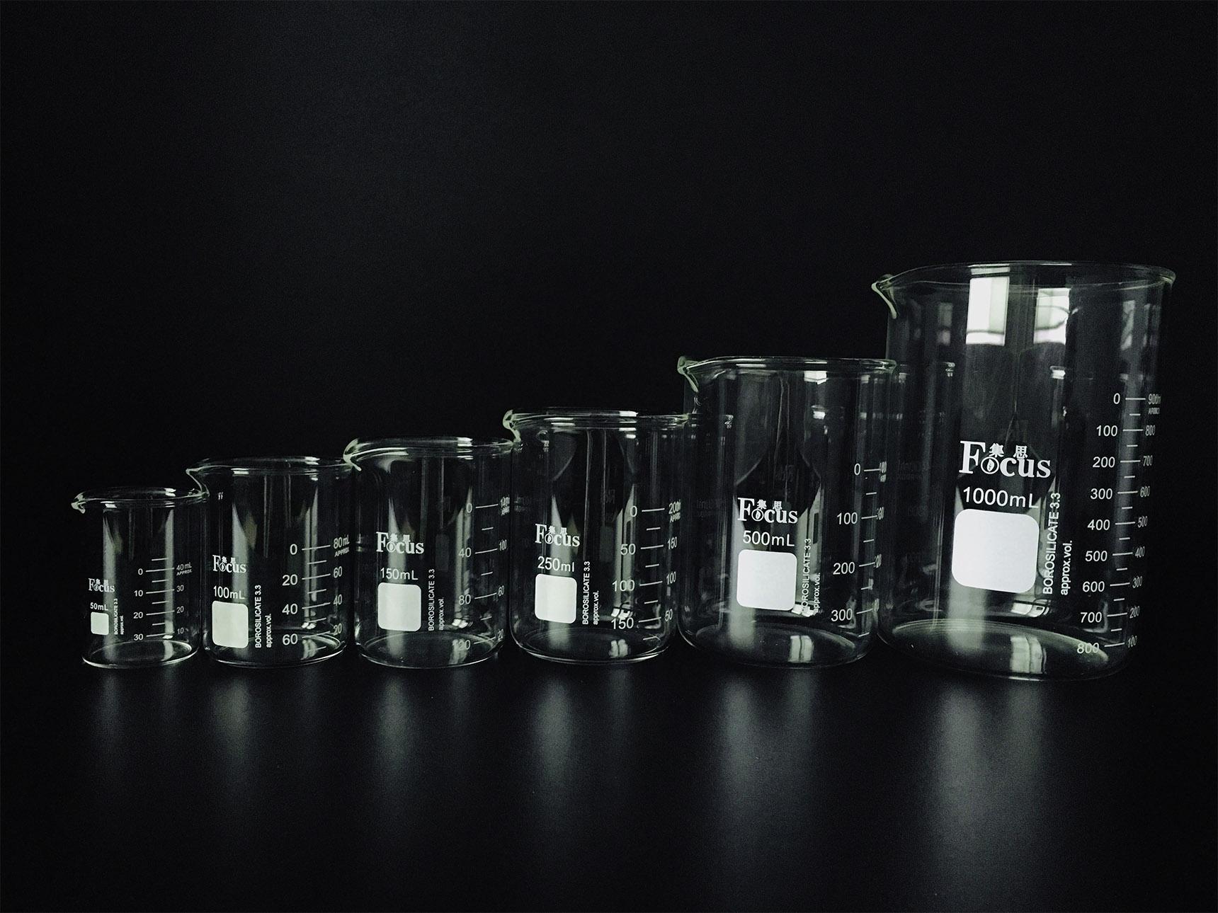 烧杯 实验室玻璃仪器