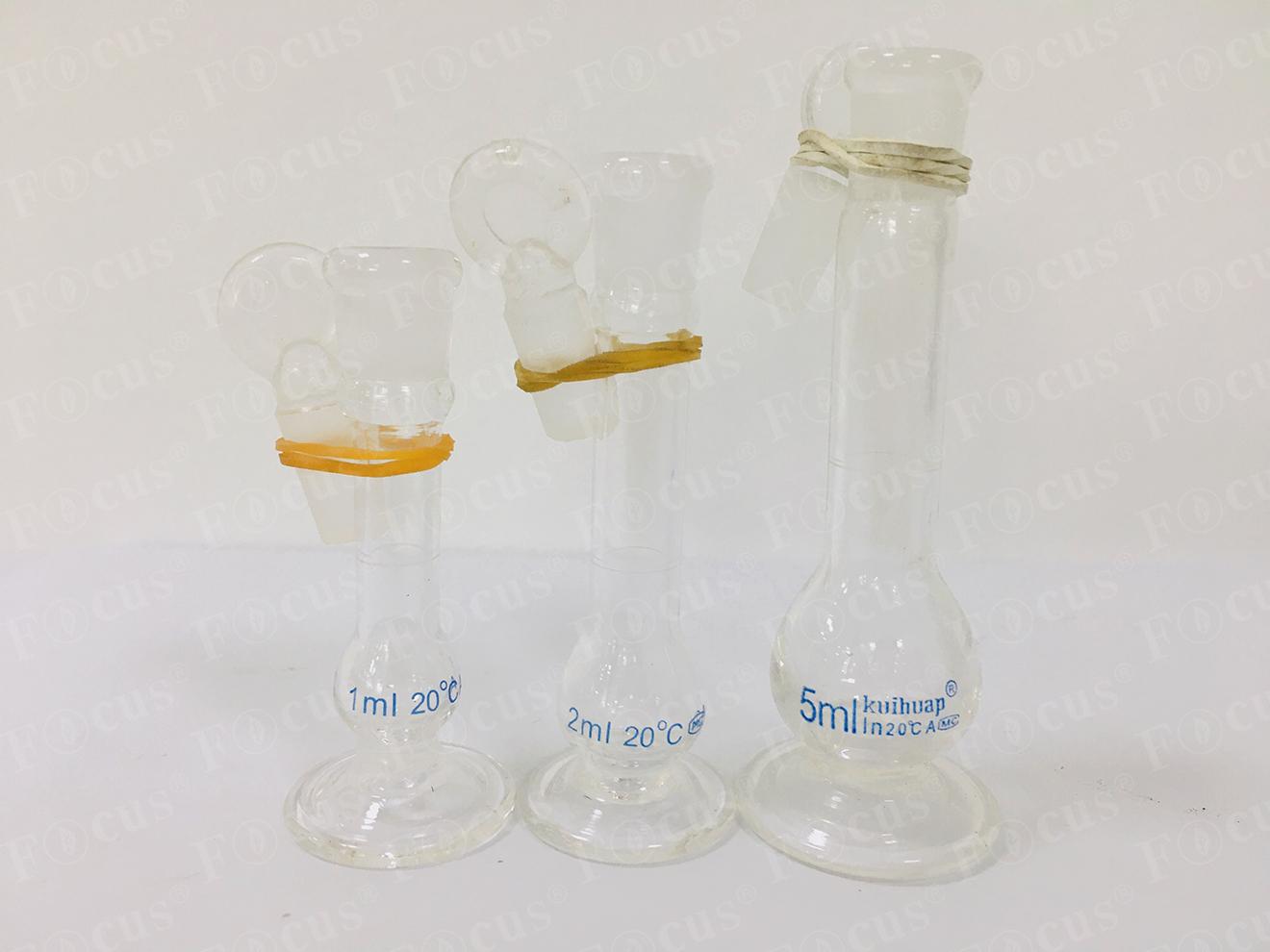容量瓶(白)  带底座 葵花仪器